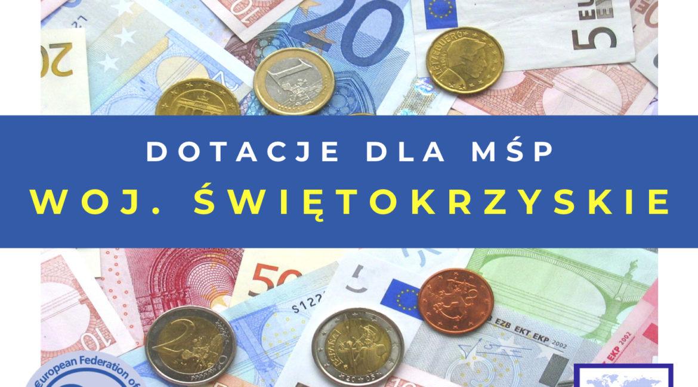 Dofinansowanie na szkolenia w województwie świętokrzyskim