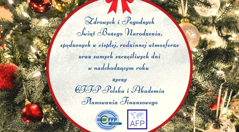 Zdrowych i Pogodnych Świąt Bożego Narodzenia!